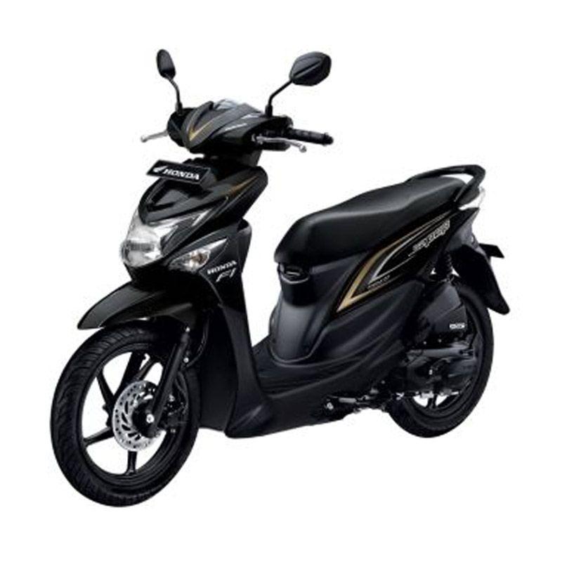 Honda All New Beat Fi Pop New Tone Black Sepeda Motor