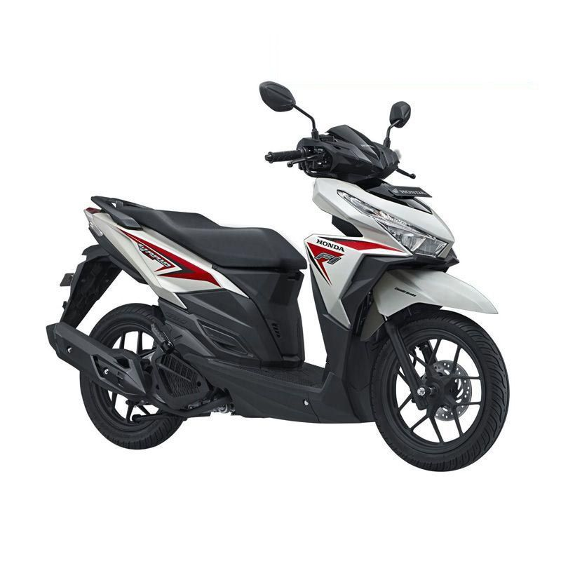 Honda All New Vario 125 eSP CBS Glazzy White Red Sepeda Motor