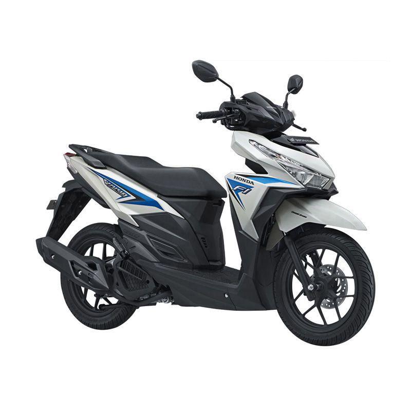 Honda All New Vario 125 eSP CBS ISS Sonic White Blue Sepeda Motor