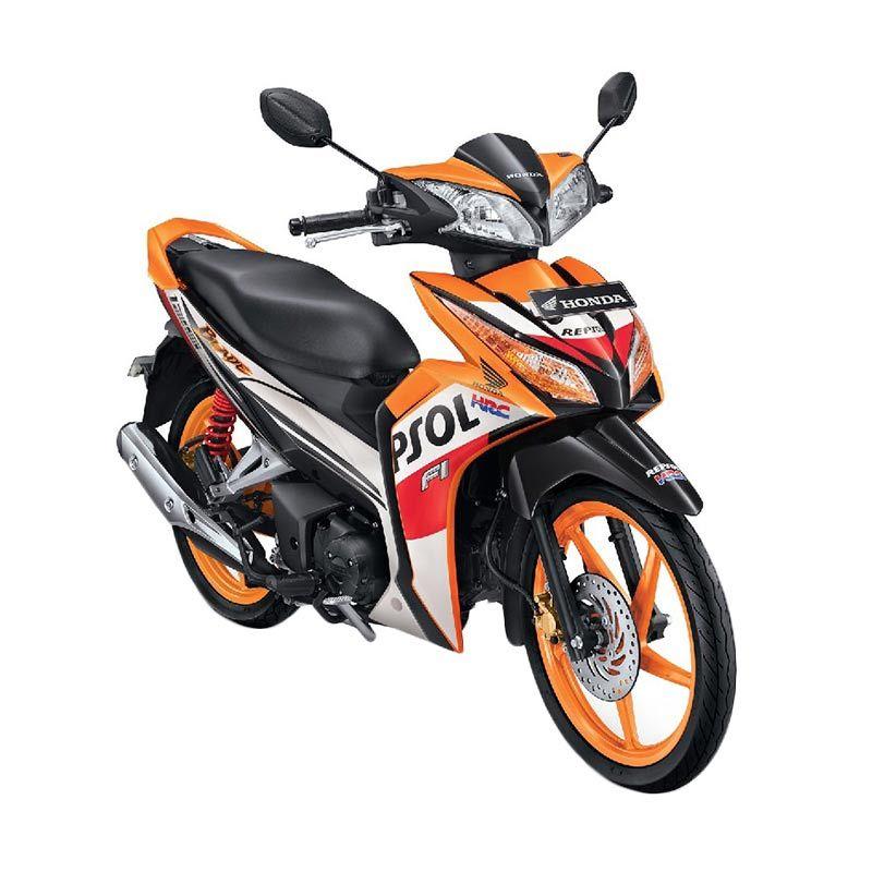 Honda Blade 125 FI R Full Disc Brake Special Repsol Sepeda Motor