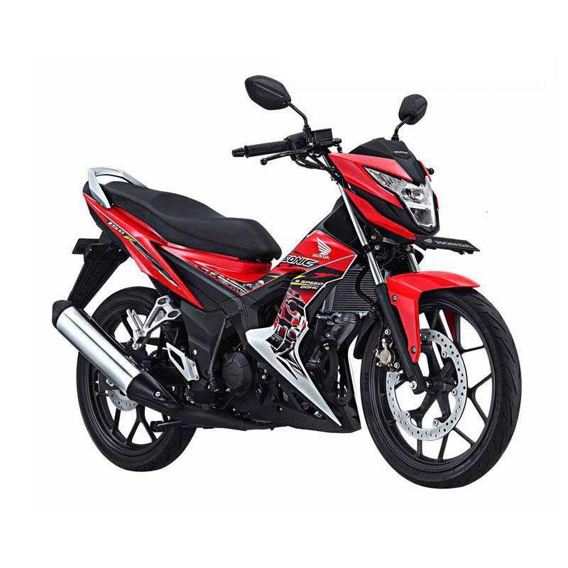 Honda New Sonic 150R Energetic Red Sepeda Motor