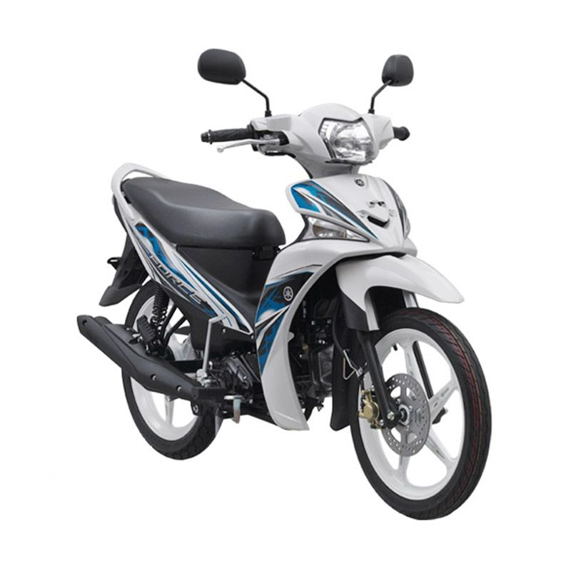 Yamaha Force White Sepeda Motor