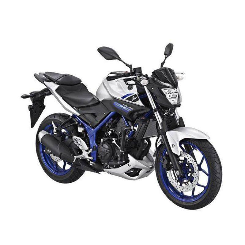 Yamaha MT 25 Silver Blue Sepeda Motor