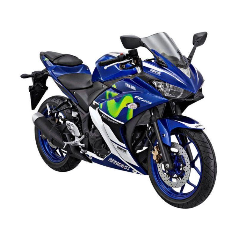 Yamaha YZF R25 Movistar MotoGP Sepeda Motor