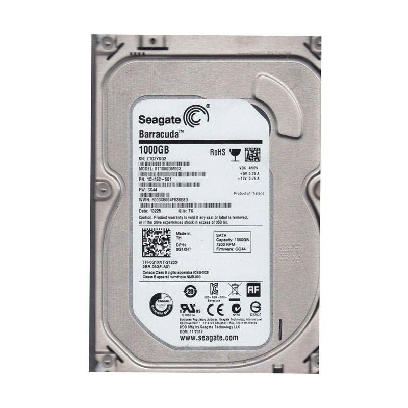 Seagate 1 TB Hard Disk Internal [3.5 Inch/7200RPM]