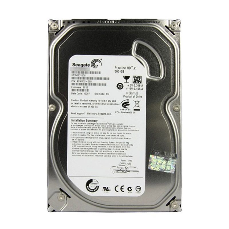 Seagate 500 GB Hard Disk Internal [3.5 Inch]