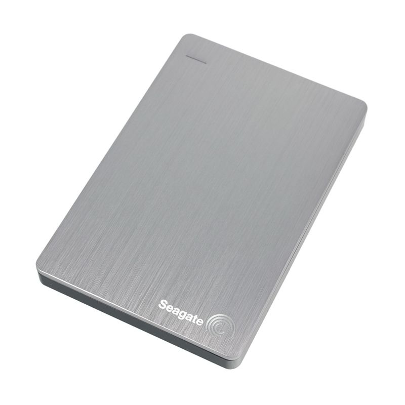 Seagate Backup Plus Slim Silver Hardisk Eksternal [2 TB]