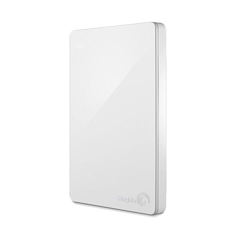 Seagate Backup Slim Plus Putih Hard Disk Eksternal [1 TB /2.5 Inch]
