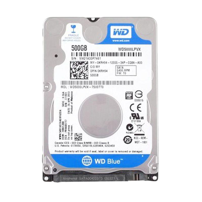 WD Blue Hardisk Internal [2.5 Inch/500 GB]