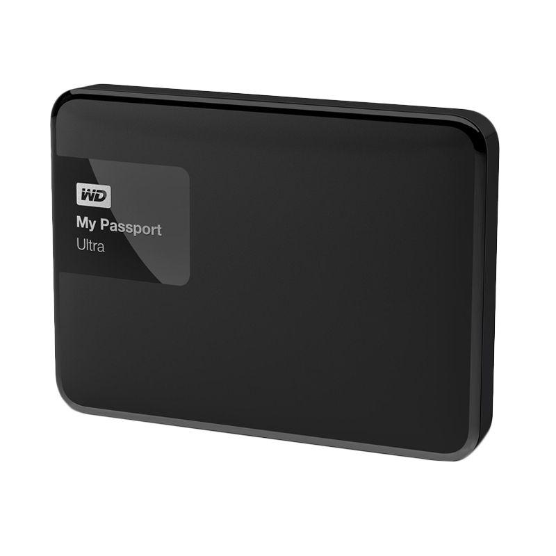 WD My Passport Ultra Premium Black Hard Disk External  [3 TB] + Softcase