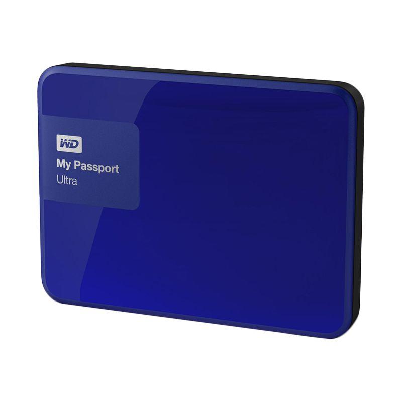 WD My Passport Ultra Premium Blue Hard Disk External  [2 TB] + Softcase