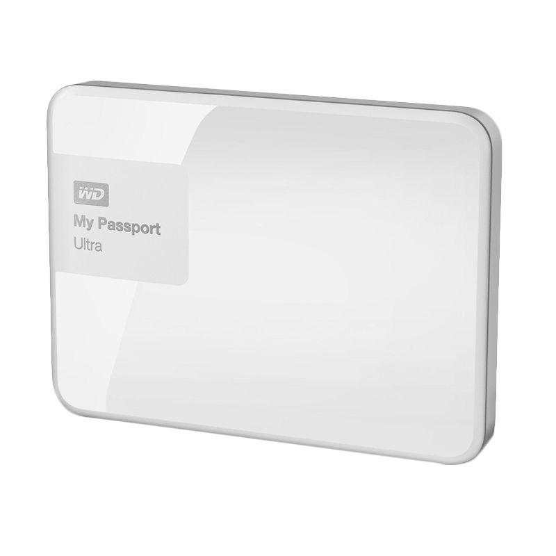 WD My Passport Ultra Premium White Hard Disk External  [3 TB] + Softcase