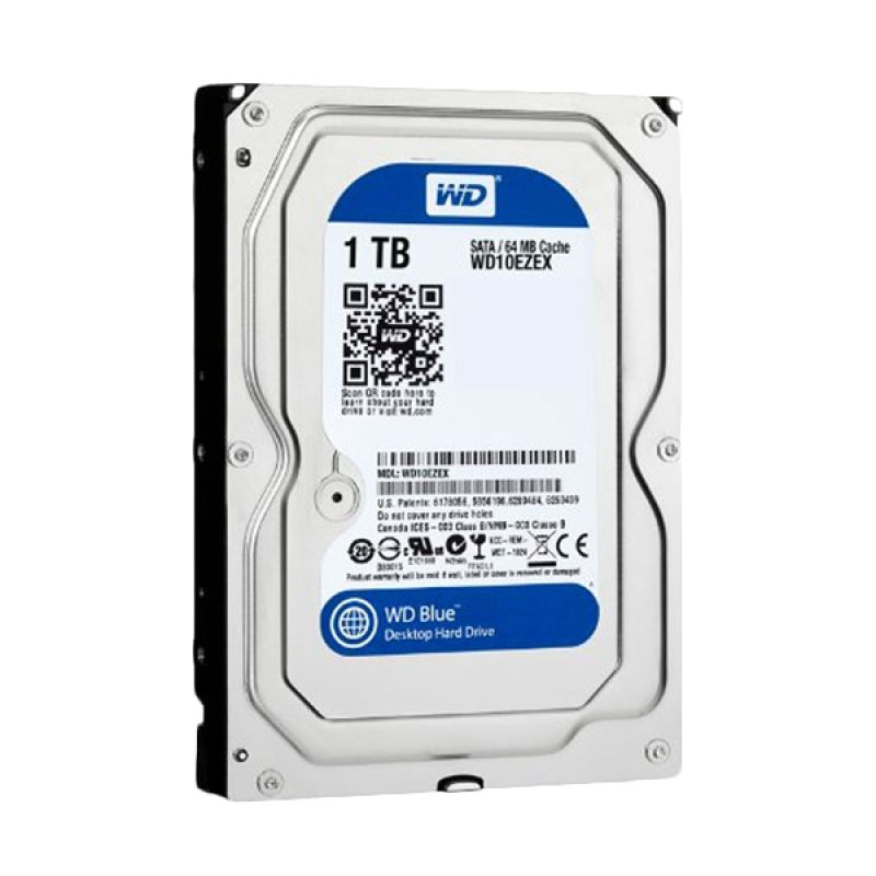 WD 1 TB Blue Hard Disk Internal [3,5 Inch]