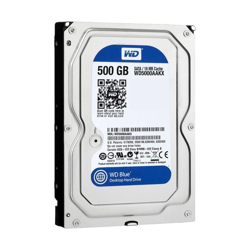 WD 500 GB Caviar Blue Hard Disk Internal [3,5 Inch]