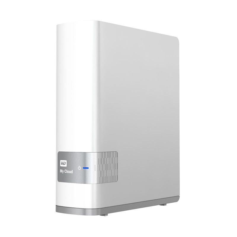 WD NAS My Cloud White Hard Disk Eksternal [4 TB]