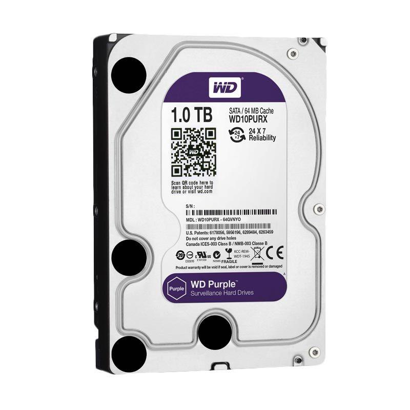 WD Purple Hard Disk Internal [1TB/3.5 Inch]