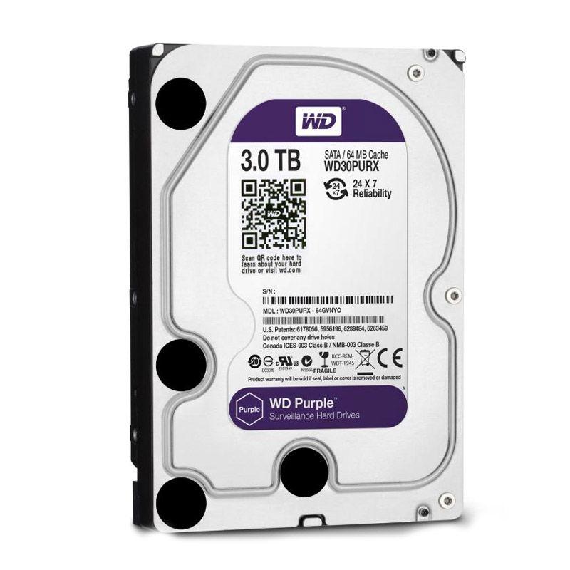 WD Purple Hard Disk Internal [3 TB/3.5 Inch]