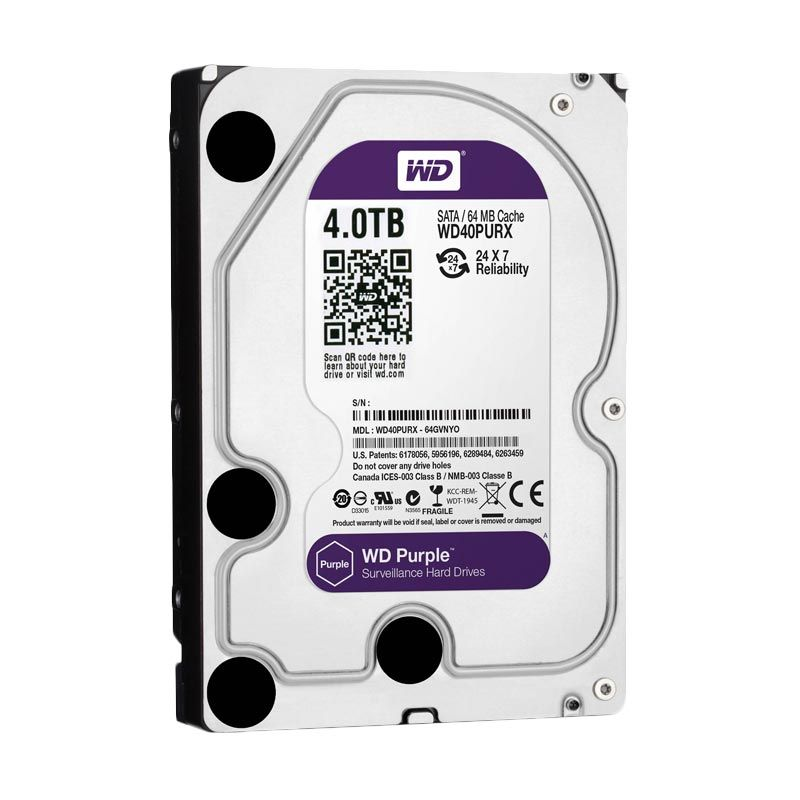 WD Purple Hard Disk Internal [ 4 TB]