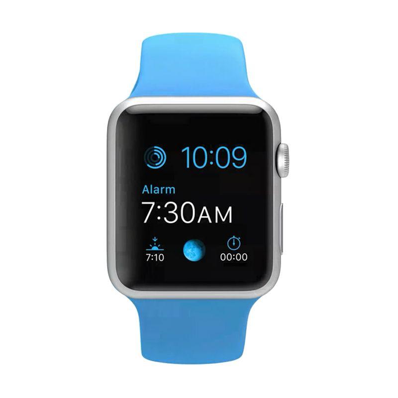 Apple Watch Alumunium Seri 7000 Blue Smartwatch [42 mm]