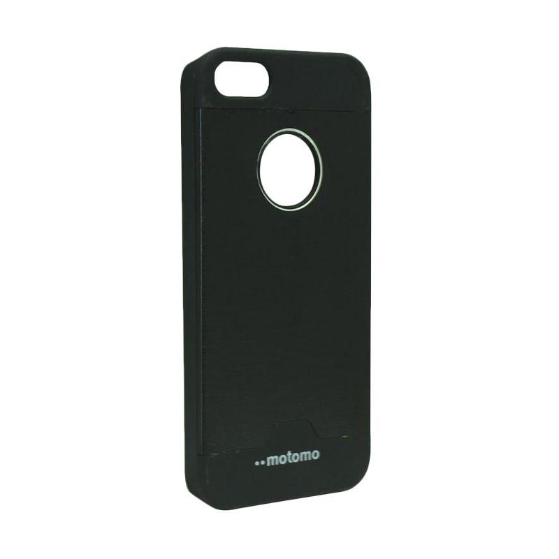Motomo Ino Metal Black Casing for iPhone 5