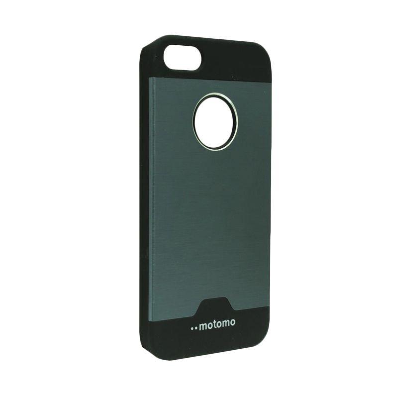 Motomo Ino Metal Dark Blue Casing for iPhone 5c