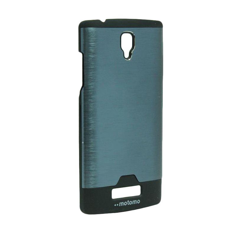 Motomo Ino Metal Dark Blue Casing for Oppo Neo R831