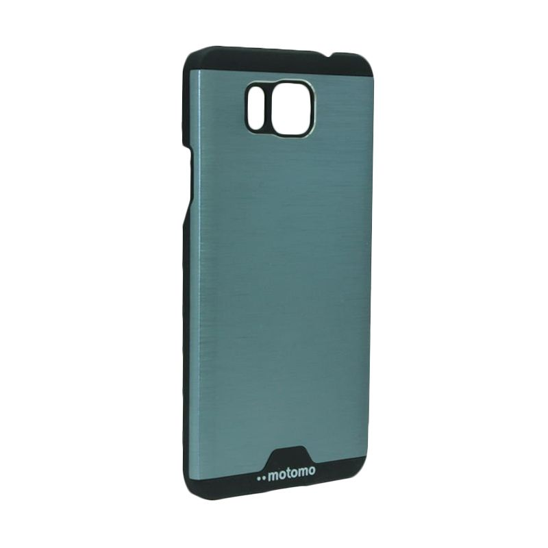 Motomo Ino Metal Dark Blue Casing for Samsung Galaxy Alpha G850