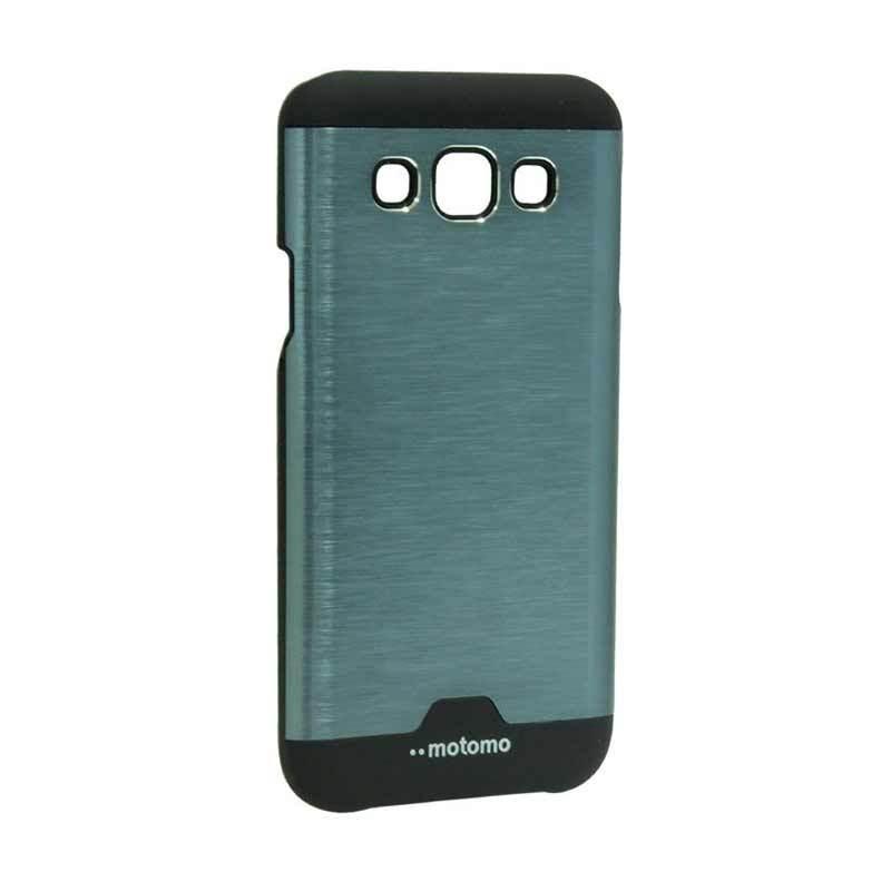 Motomo Ino Metal Dark Blue Casing for Samsung Galaxy E5 E500