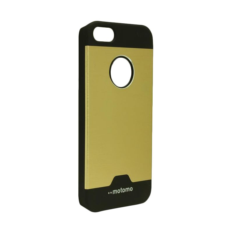 Motomo Ino Metal Gold Casing for iPhone 5