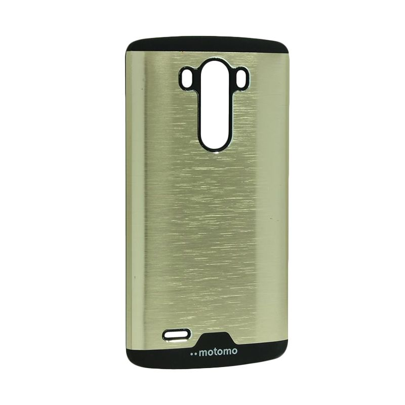 Motomo Ino Metal Gold Casing for LG G3