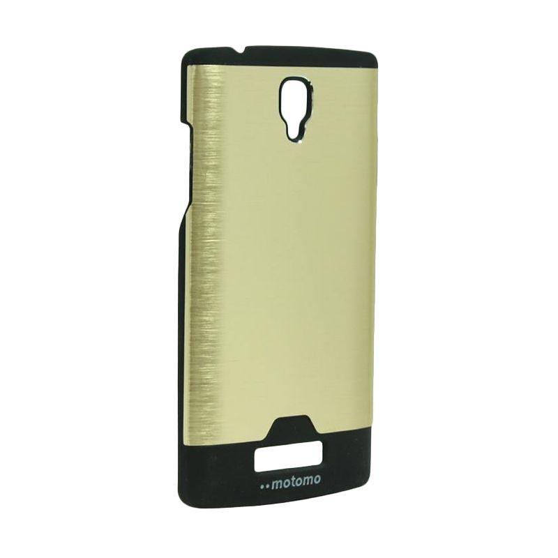 Motomo Ino Metal Gold Casing for Oppo Neo R831