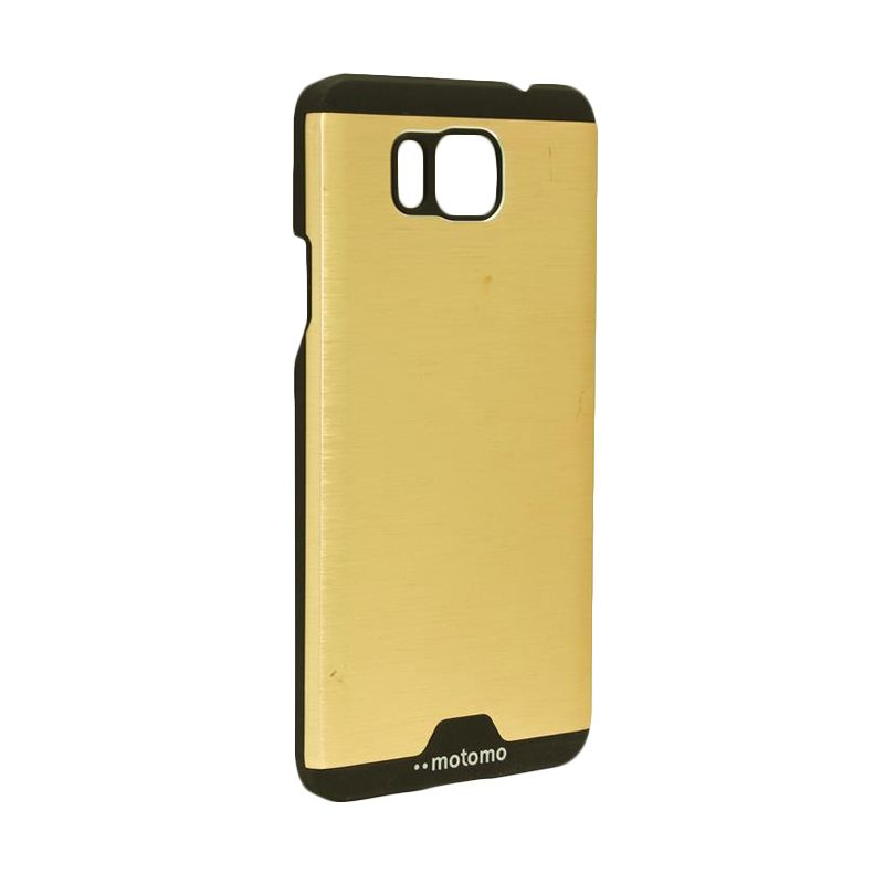 Motomo Ino Metal Gold Casing for Samsung Galaxy Alpha G850
