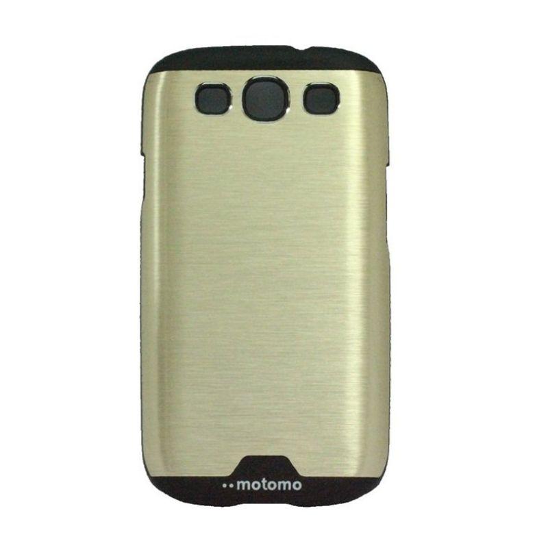 Motomo Ino Gold Metal Casing for Samsung Galaxy S3