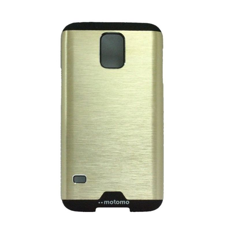 Motomo Ino Gold Metal Casing for Samsung Galaxy S5