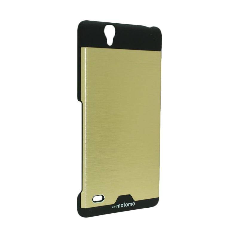 Motomo Ino Metal Gold Casing for Sony Xperia C4