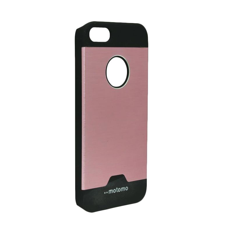 Motomo Ino Metal Pink Casing for iPhone 5