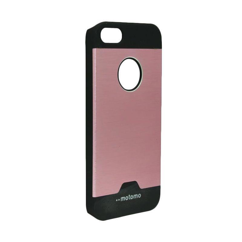 Motomo Ino Metal Pink Casing for iPhone 5c