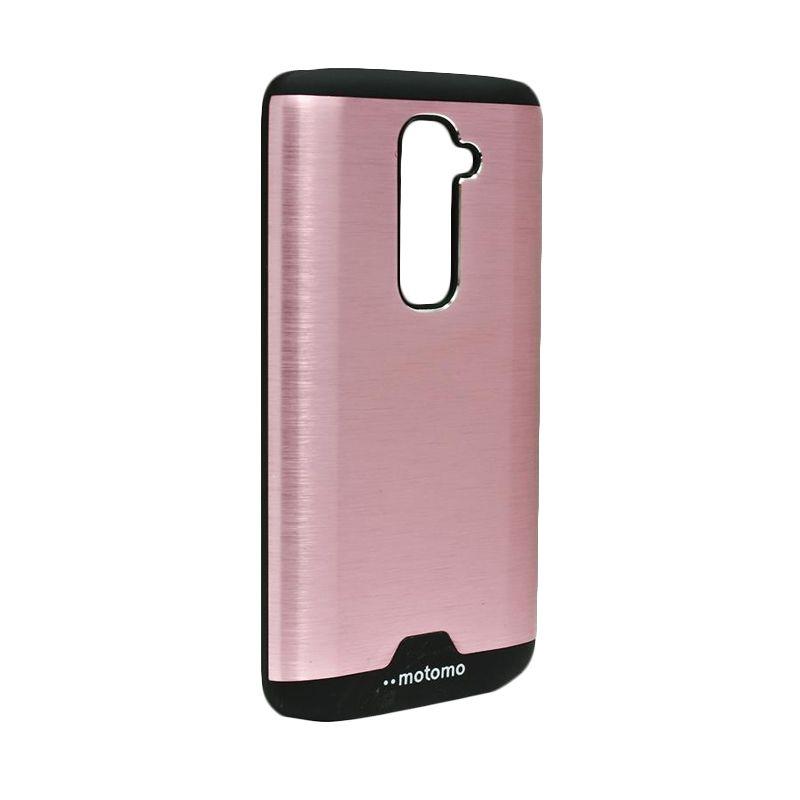 Motomo Ino Metal Pink Casing for LG G2