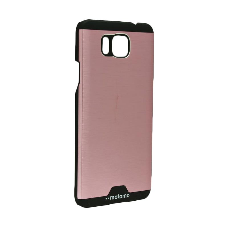 Motomo Ino Metal Pink Casing for Samsung Galaxy Alpha G850