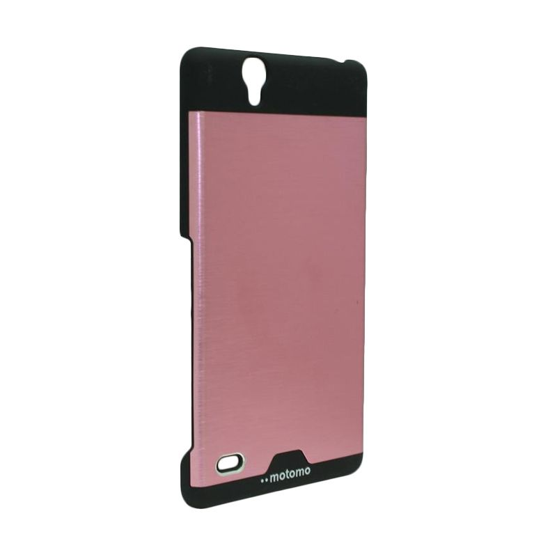 Motomo Ino Metal Pink Casing for Sony Xperia C4