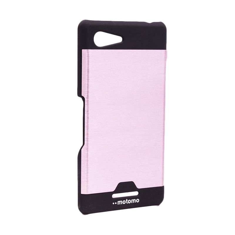 Motomo Ino Metal Pink Casing for Sony Xperia E3