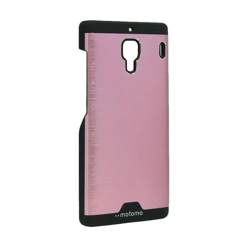 Motomo Ino Metal Pink Casing for Xiaomi Redmi 1S