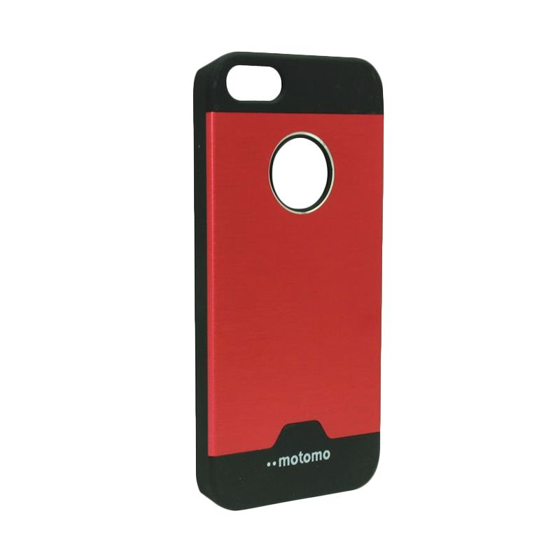 Motomo Ino Metal Red Casing for iPhone 5