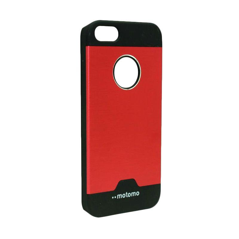 Motomo Ino Metal Red Casing for iPhone 5c
