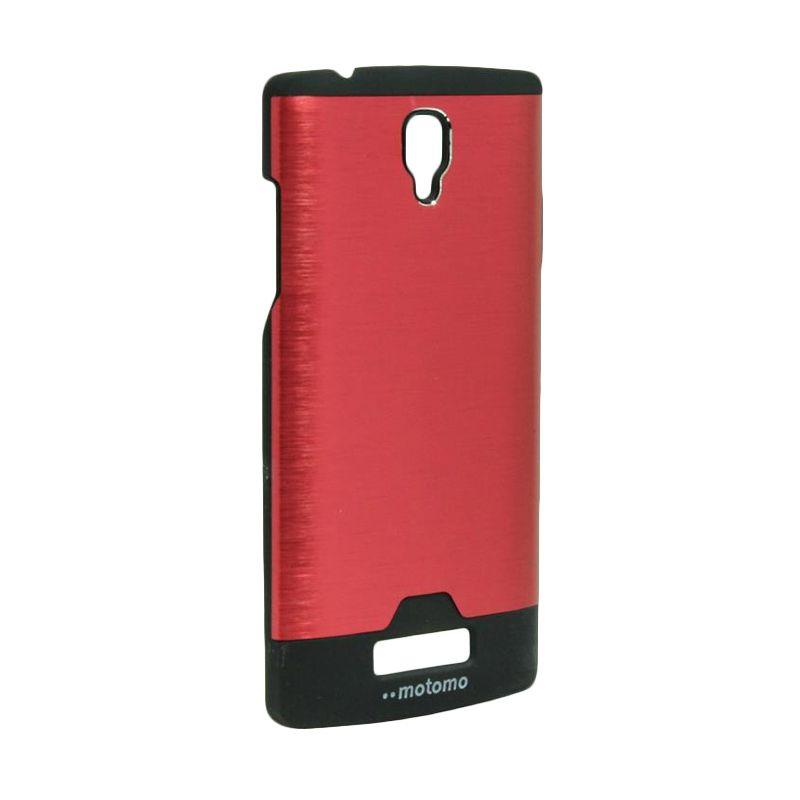 Motomo Ino Metal Red Casing for Oppo Neo R831