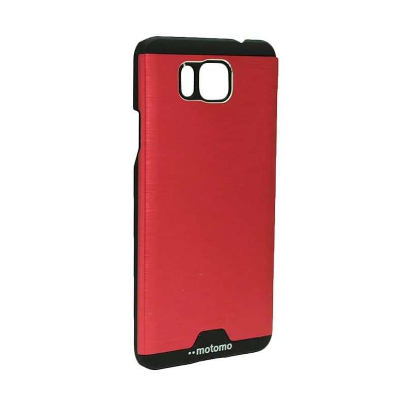 Motomo Ino Metal Red Casing for Samsung Galaxy Alpha G850