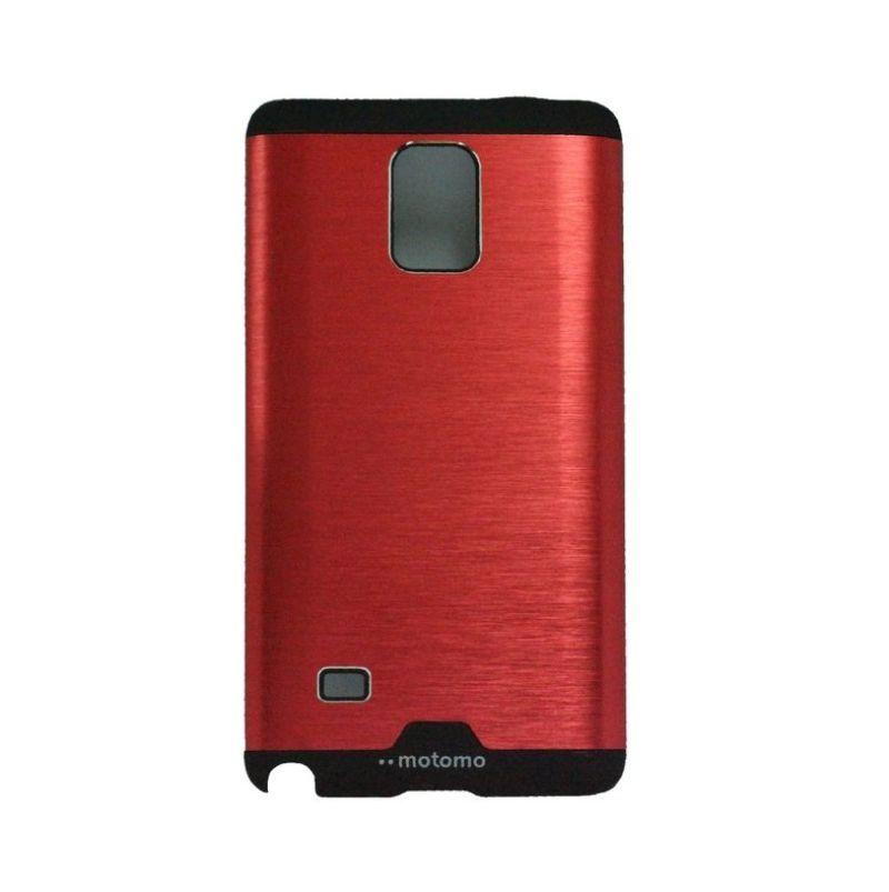 Motomo Ino Red Metal Casing for Samsung Galaxy Note 4