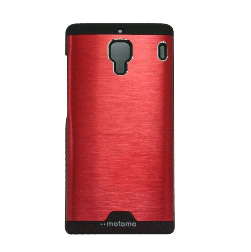 Motomo Ino Red Metal Casing for Xiaomi Redmi 1S