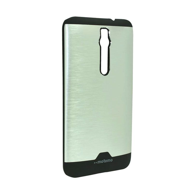 Motomo Ino Metal Silver Casing for Asus Zenfone 2 ZE551ML