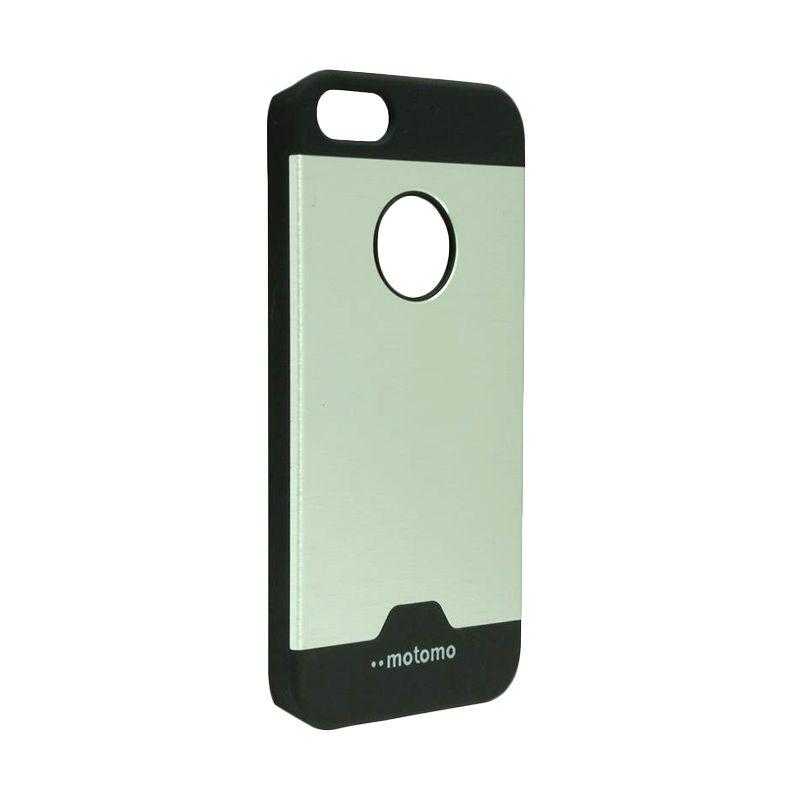 Motomo Ino Metal Silver Casing for iPhone 5